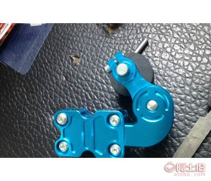 正雄链条车改结构摩托调节器摩托车改装件装饰皇冠v链条塞带挂图片